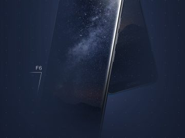 Gionee F6 and F205 poster