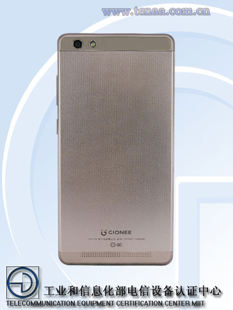 Gionee GN5006L back