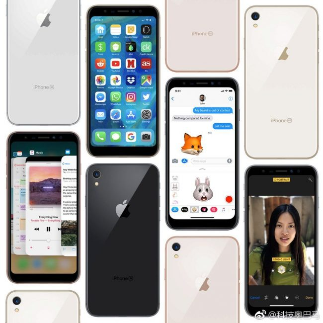 iPhone SE various