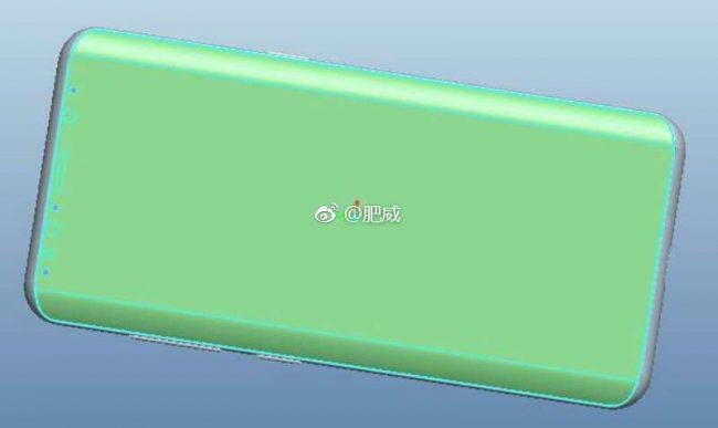 Samsung Galaxy S9 green back