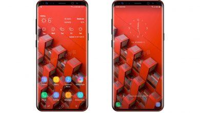 Samsung Galaxy S9 rendering
