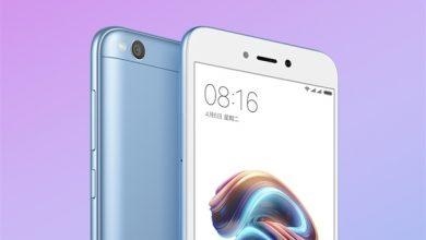 blue Xiaomi Redmi 5A