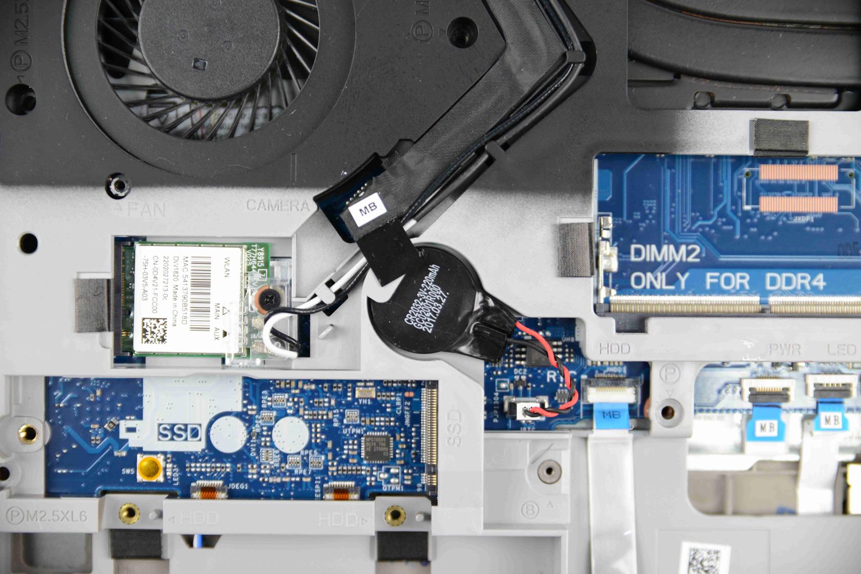 Dell Vostro 15 7570 wireless network card