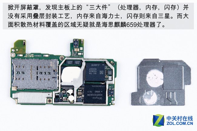 components on motherboard