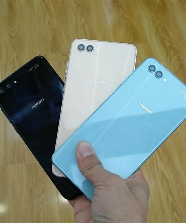 Huawei Nova 2s back