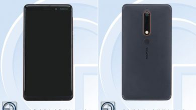 Nokia TA-1054 front and back