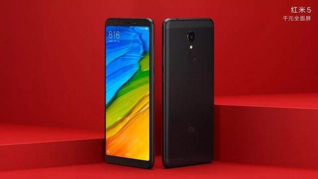Xiaomi Redmi 5 black