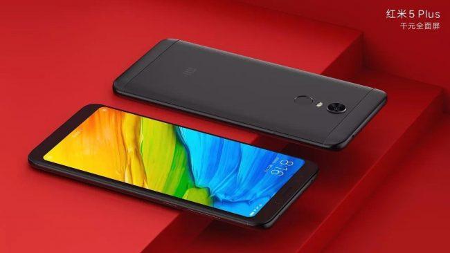 Xiaomi Redmi 5 Plus black
