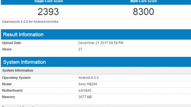 Sony H8266 on GeekBench