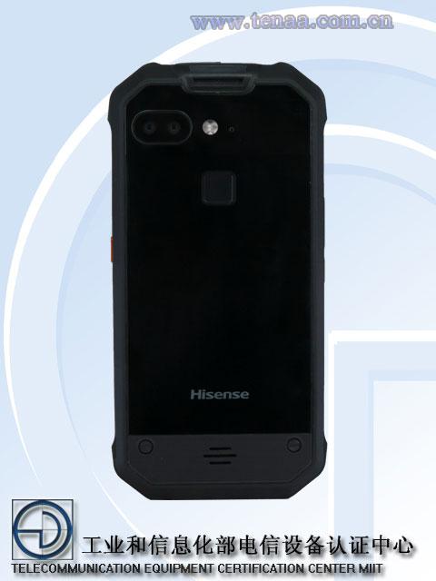 Hisense P9 back