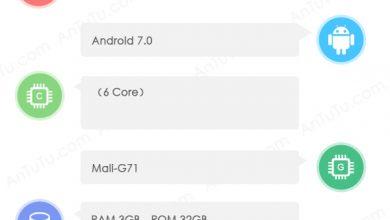 Meilan S6 on AnTuTu