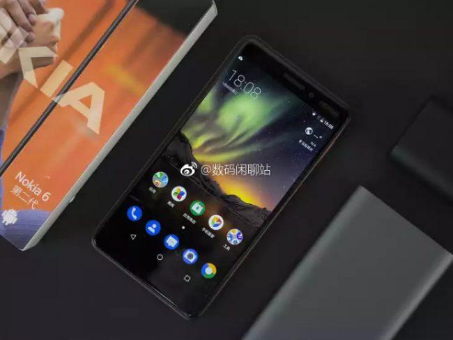 Nokia 6 (2018) front