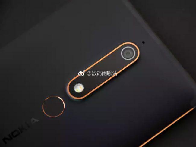 Nokia 6 (2018)rear camera