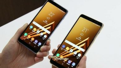 Samsung Galaxy A8/A8+ front