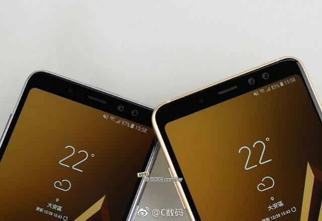 Samsung Galaxy A8/A8+ front camera