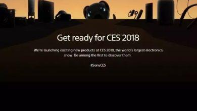 Sony CES 2018