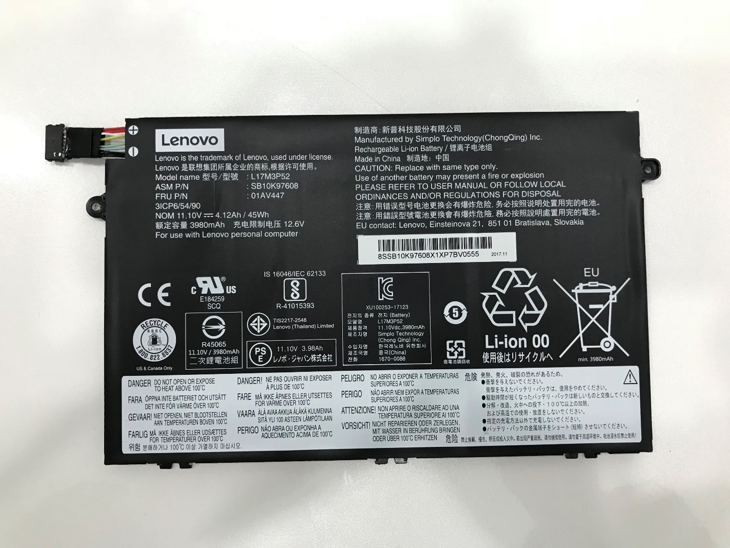 Lenovo ThinkPad E480 Teardown and RAM, SSD, HDD upgrade