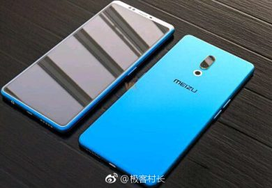 Meizu 15 Plus rendering