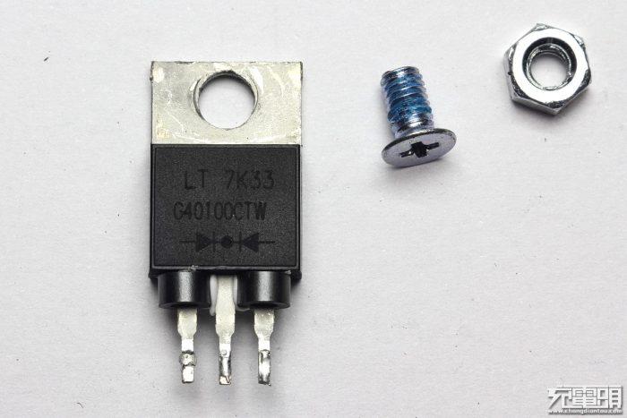 Schottky rectifier G40100CTW