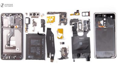 Huawei Mate RS internal parts