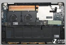 Dell XPS 15 9575 internal picture