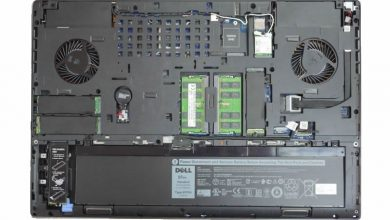 Dell Precision 7730 internal picture