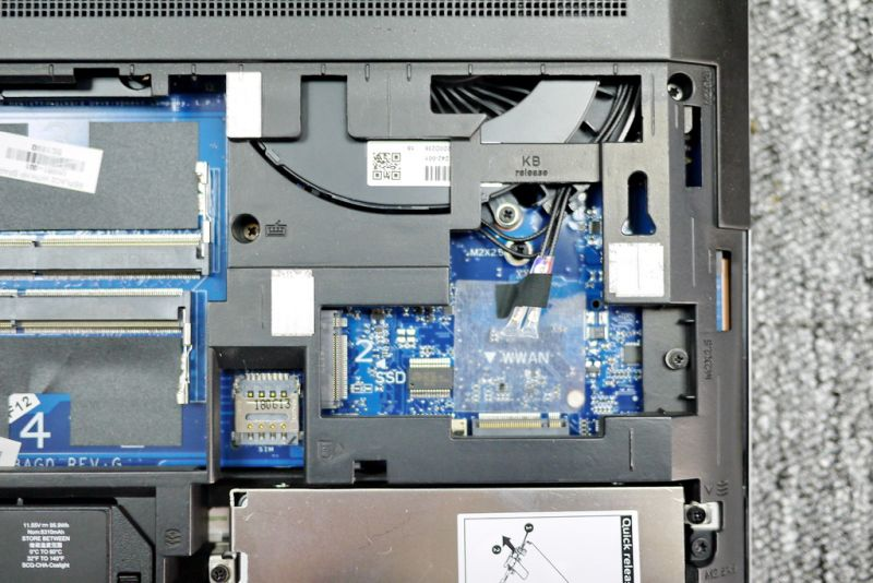 HP ZBook 17 G5 Disassembly (RAM, SSD, HDD upgrade options