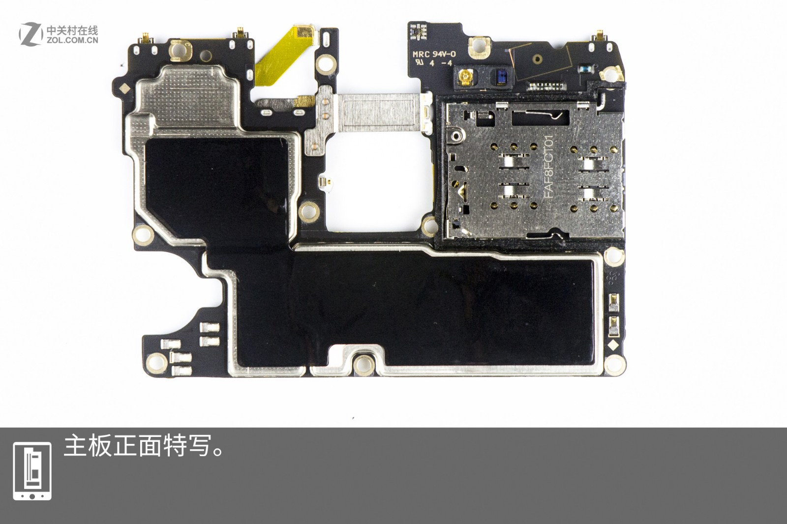 Oppo R17 Teardown Infrared Proximity Sensor Circuit The Can Work Normally Through Amoled Screen Light And Pipe Are Placed In Same Place