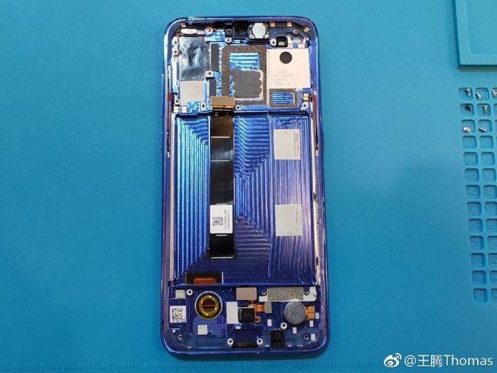 Xiaomi 9 middle frame