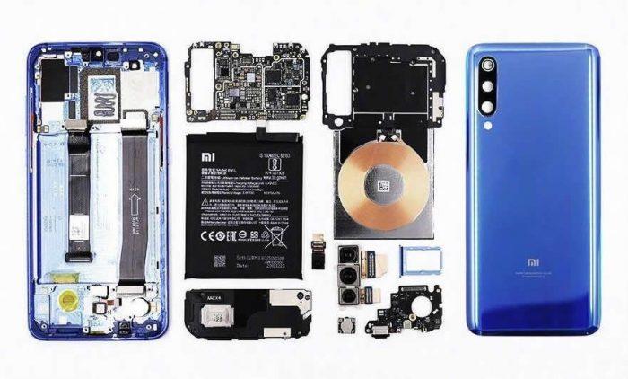 Xiaomi 9 teardown