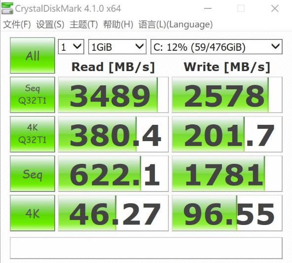 SN720 SSD speed