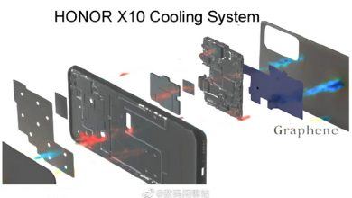Photo of Honor X10 Internal Structure Diagram Leaked: Much Improved Heat Dissipation Technology