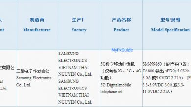 Photo of Samsung Galaxy Note20+ Got 3C Certification