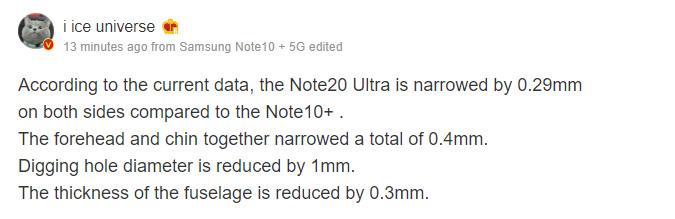 Galaxy Note20 Leaks