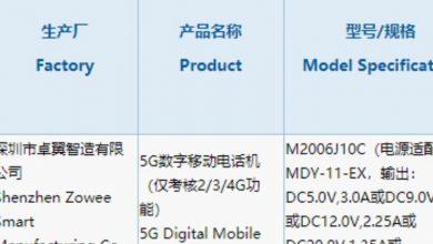 Photo of Xiaomi Mi CC10 Got Its 3C Certification: 33W Fast Charging