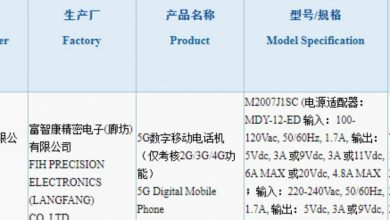 Photo of New Xiaomi 5G Phone With 120W Charger Spotted On 3C Certification
