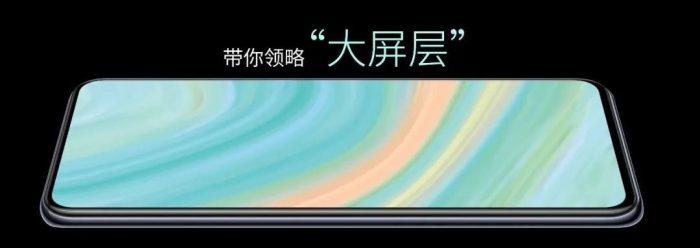 AXON 20 5G under screen-camera solution