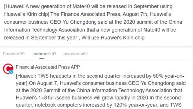 Photo of Huawei Mate 40 And P40's New Version Coming In September, After Shipped 105M Phones In 1H20