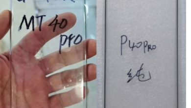 Photo of Huawei Mate 40 Pro Glass Protector Revealed: Dual Punch-Hole Waterfall Display