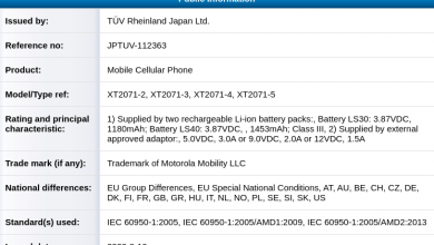 Photo of Motorola Razr 2020 5G Spotted On TUV Rheinland: 18W Charging With 2633mAh Battery