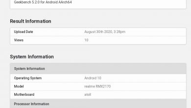 Photo of Realme 7 Pro (RMX2170) With Snapdragon 720G Spotted On Geekbench