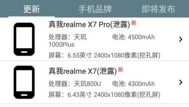 Realme X7 Series Chipset