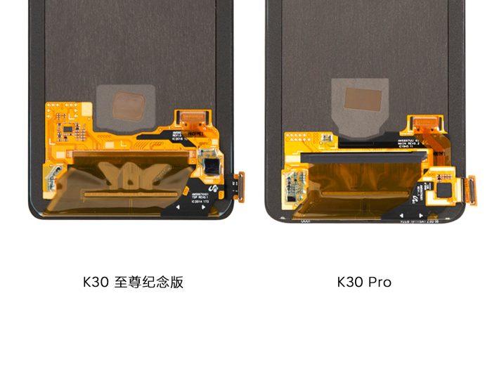 Redmi K30 Ultra Display Inside