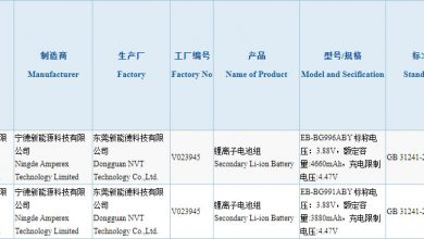 Galaxy S21 3C Batteries Capacity