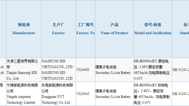 Photo of Samsung Galaxy S21 Ultra Battery Got 3C Certification: 4855mAh