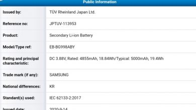 Galaxy S21 Ultra Battery Specifications