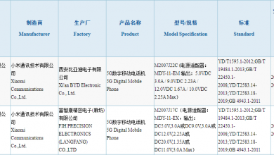Redmi Note 10 3C Certification