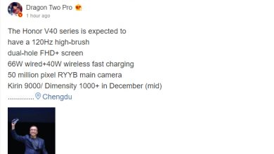 Photo of Honor V40 Series With Kirin 9000 And Dimensity 1000+ Chipsets Are Coming In Mid-December