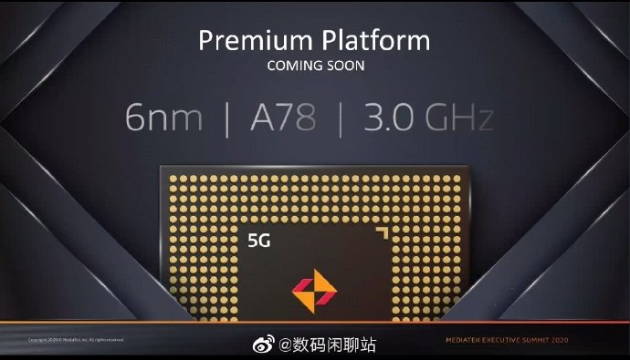 New Mediatek Chipset At 6nm