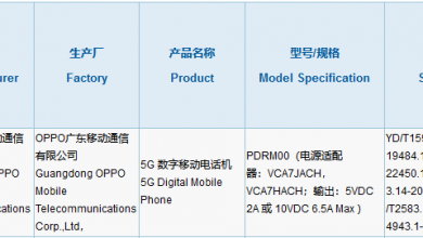 Photo of Possible Oppo Reno Ace3 Spotted On 3C Certification With 65W Flash Charging